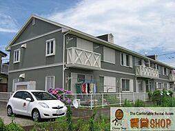 千葉県船橋市二和西4の賃貸アパートの外観
