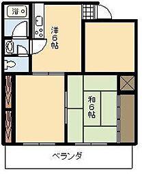 TOPIKA源藤 西[202号室]の間取り