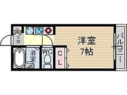 メゾン・エルアンドジョイ[2階]の間取り