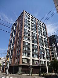 北海道札幌市中央区南七条西1丁目の賃貸マンションの外観