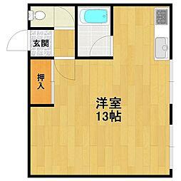 メイフェア伊丹[2階]の間取り