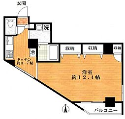 アイフィールドマンション[6階]の間取り