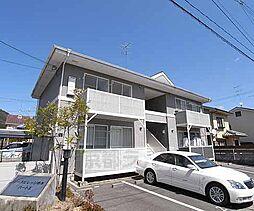 京都府京都市北区西賀茂井ノ口町の賃貸アパートの外観