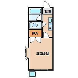 ▲シャトレー文京[1階]の間取り
