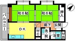 青柳21[3階]の間取り