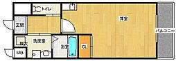 ピソミナミ[4階]の間取り