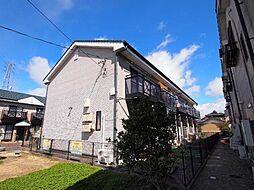 岐阜県美濃加茂市西町5丁目の賃貸アパートの外観
