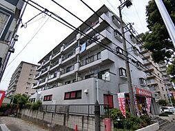 埼玉県草加市栄町1丁目の賃貸マンションの外観
