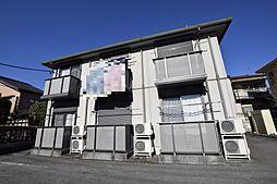 栃木県宇都宮市弥生1丁目の賃貸アパートの外観