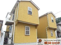千葉県千葉市中央区葛城2丁目の賃貸アパートの外観