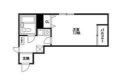 シティパレス21平尾駅前Part3[4階]の間取り