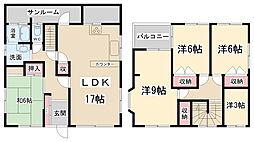 [一戸建] 兵庫県伊丹市岩屋1丁目 の賃貸【/】の間取り