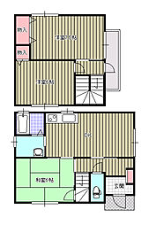 [一戸建] 愛媛県新居浜市田の上2丁目 の賃貸【/】の間取り