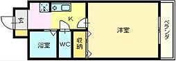 HIYORIー2[2階]の間取り