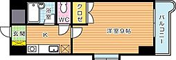 KMマンション産医大前[3階]の間取り