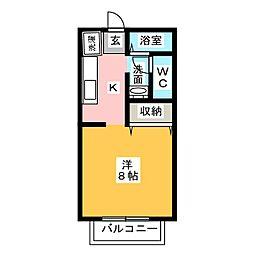 スバル[2階]の間取り
