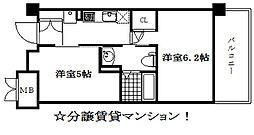 エステムプラザ神戸西Vミラージュ[8階]の間取り