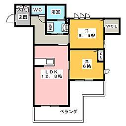 葵邸[1階]の間取り
