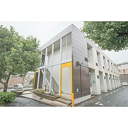 岡山県岡山市東区中尾の賃貸アパートの外観
