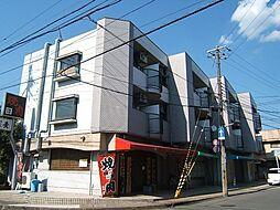 京都府宇治市五ケ庄新開の賃貸マンションの外観