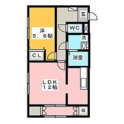 さくらHOUSE[2階]の間取り