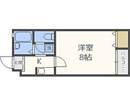 PLEAST姪浜III[201号室号室]の間取り