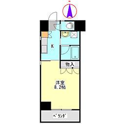 U・TOPIA 62[801号室]の間取り