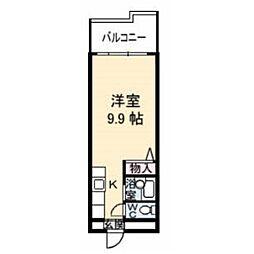 第二福田ビル[6階]の間取り