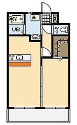 (新築)別府町マンション[401号室]の間取り