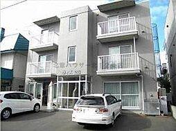 北海道札幌市北区北二十八条西6丁目の賃貸マンションの外観