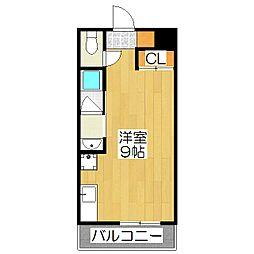Minoa-Ru[104号室]の間取り