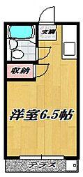 アゼリア宮崎台[102号室号室]の間取り