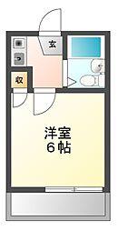 愛知県名古屋市南区松下町4丁目の賃貸アパートの間取り