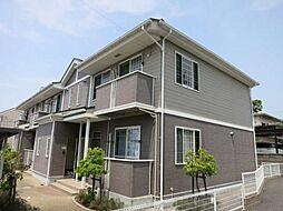 愛知県岡崎市洞町字本郷丁目の賃貸アパートの外観
