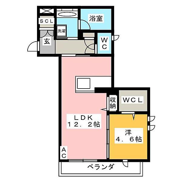 新築メゾン・サンライズ[3階]の間取り