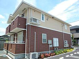 茨城県土浦市港町3丁目の賃貸アパートの外観