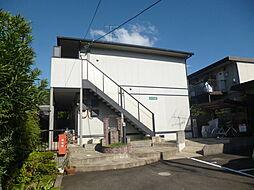 京都府京都市伏見区醍醐御陵西裏町の賃貸アパートの外観
