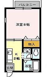 セザール昭和[2階]の間取り