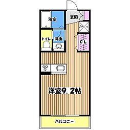 モノリスコート[2階]の間取り
