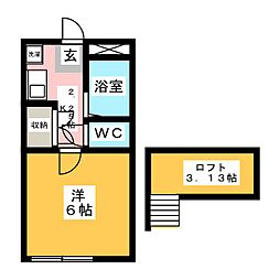 西川田駅 1.8万円