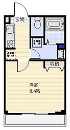 Be Terrace[3階]の間取り