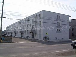 北海道札幌市東区東苗穂十四条3丁目の賃貸マンションの外観