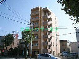 北海道札幌市東区北二十三条東16の賃貸マンションの外観