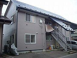 岩手県盛岡市東見前4地割の賃貸アパートの外観