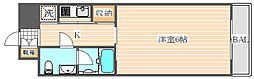 福岡県福岡市博多区千代2丁目の賃貸マンションの間取り