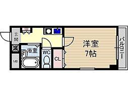 末広14番館[3階]の間取り