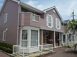徳島県徳島市南矢三町2丁目の賃貸アパートの外観