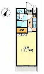 グランチェスタ A[202号室]の間取り
