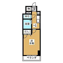 現代ハウス大須[10階]の間取り