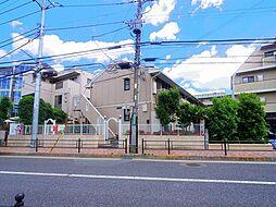 東京都練馬区石神井町5丁目の賃貸アパートの外観
